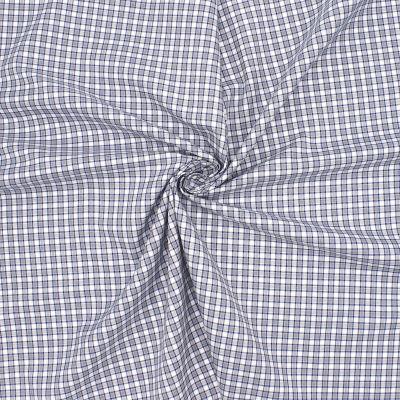 Checkerd cotton - grey