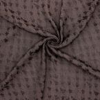 Apparel fabric with pattern - brown
