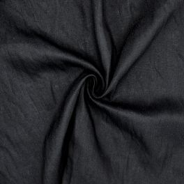 Tissu en viscose bleu marine