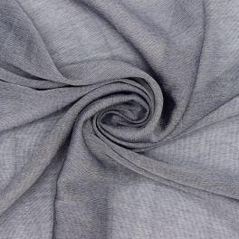 Tissu en viscose bleu gris