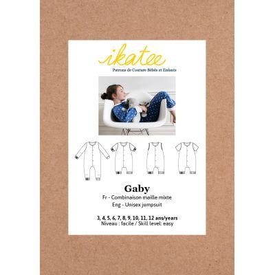 Pyjama suit pattern Gaby 3 - 12 years