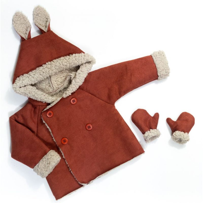 Jacket and vest pattern Grand'ourse kids