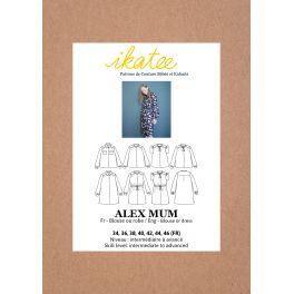 Blouse or dress pattern Alex