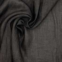 Apparel fabric - black