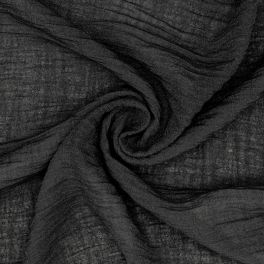 Voile de crêpe noir
