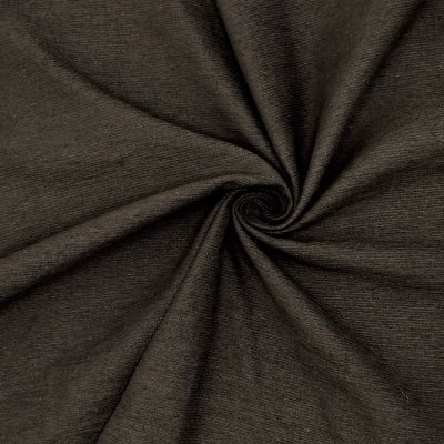 Apparel fabric - licorice black