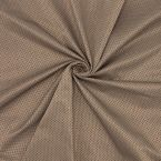 Fabric with small pattern - brown