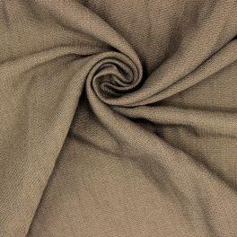 Tissu vestimentaire taupe
