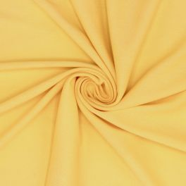 Tissu maille type polo jaune