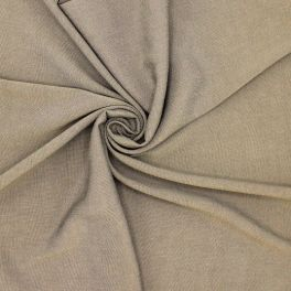 Tissu viscose taupe
