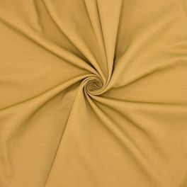 Fabric in viscose and cotton - umber