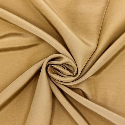 Tissu léger en viscose et soie beige