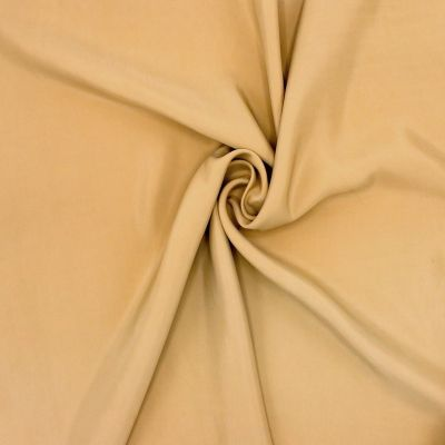 Tissu en viscose ocre rouge