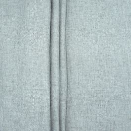 Double-sided fabric with linen aspect - grey