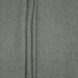Tweezijdig stof met linnen aspect - donkergrijs