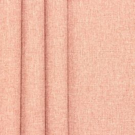 Double-sided fabric with linen aspect - pink