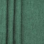Tweezijdig stof met linnen aspect - glasgroen