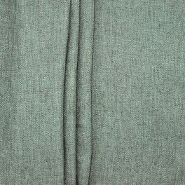 Tissu double face aspect lin kaki