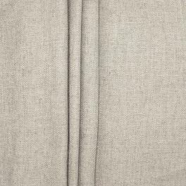 Tweezijdig stof met linnen aspect - greige