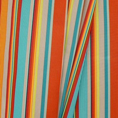 Outdoor fabric with stripes
