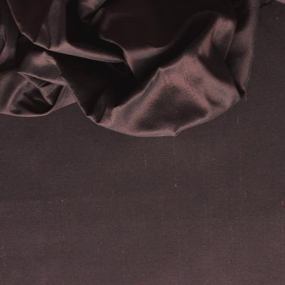Taffetas de soie changeant doupion noir