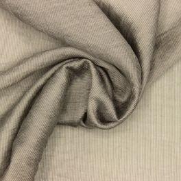 Sluier met fijne strepen - beige