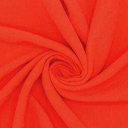 Tissu aspect crêpe rouge