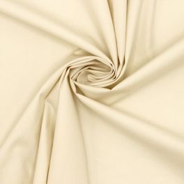 100% polyester lining fabric - vanilla color