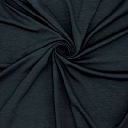 Tissu en jersey coton bleu nuit