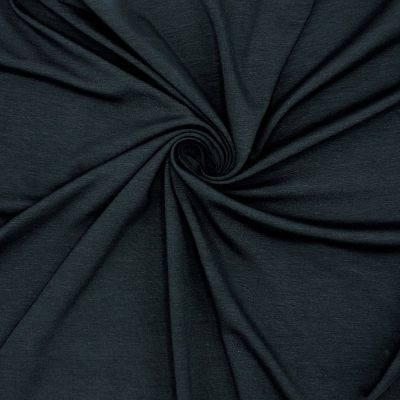Cotton jersey fabric - midnight blue
