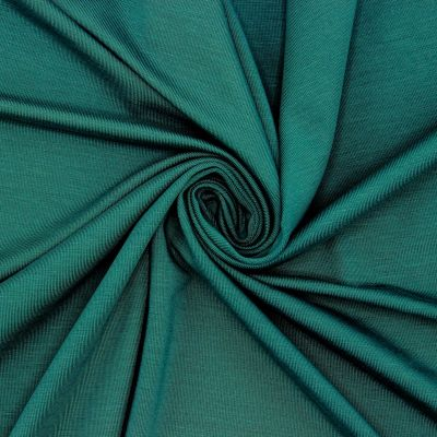 Viscose jersey fabric - teal