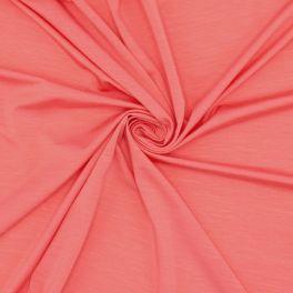 Tissu en jersey Lyocel corail