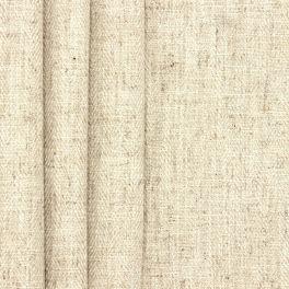 Tweezijdig stof met linnen aspect - ecru
