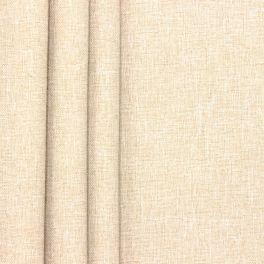 Tissu occultant chiné beige clair
