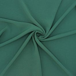 Fabric with crêpe aspect - spurce green