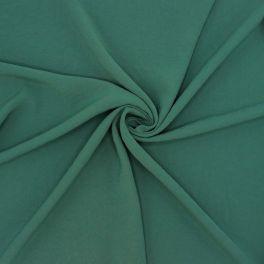 Stof met crêpe aspect - Smaragdgroen