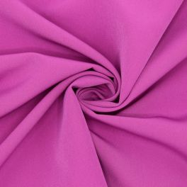 Extensible fabric type crêpe - pink