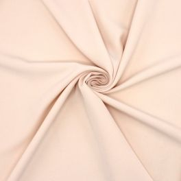 Rekbare stof type crêpe - huidskleur