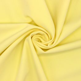 Extensible fabric type crêpe - yellow