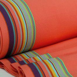 Strandstoel canvas in dralon - kleurrijk