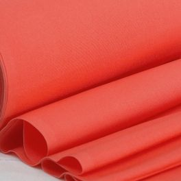 Deckchair cloth in dralon - plain coral