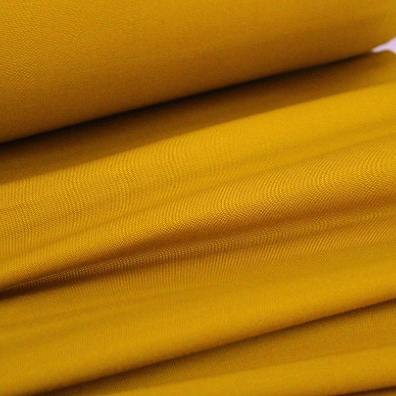 Toile transat en dralon uni moutarde