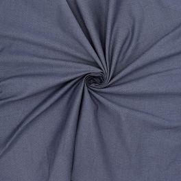 Tissu extensible aspect structuré bleu