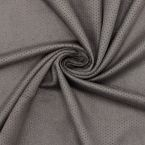 Perforated suede fabric - elephant grey