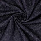 Tissu aspect jean gratté bleu