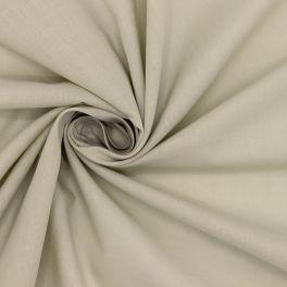 Cotton with veil aspect - beige