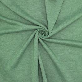 Lichte sweatstof - gespikkeld groen