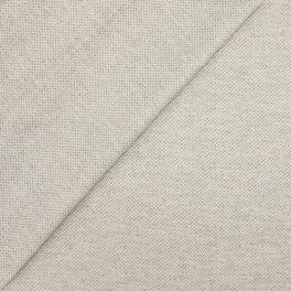 Tissu en coton enduit grège