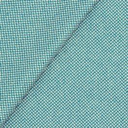 Gecoat katoen - eendblauw