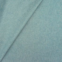 Coated cotton - teal
